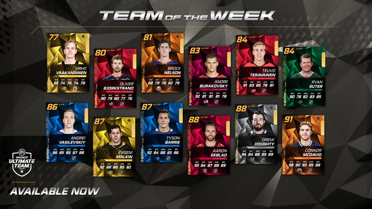 🚨🚨🚨 Connor McDavid is on the Team of the Week 🚨🚨🚨