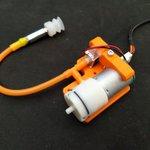Image for the Tweet beginning: Prototype du support de pompe