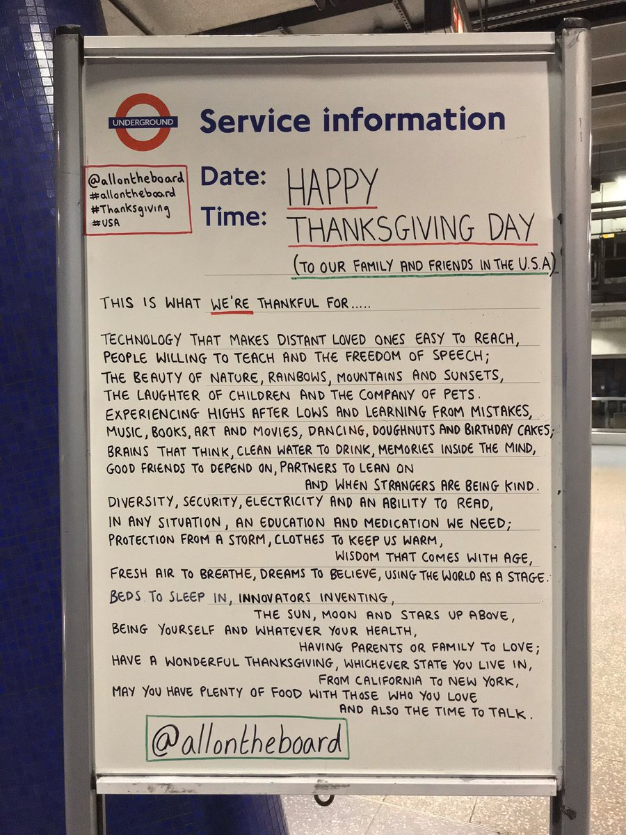 On Thursday 28th November it's Thanksgiving Day and we would like to wish our friends, family and followers in the USA a Happy Thanksgiving Day. @allontheboard #Thanksgiving #ThanksgivingEve #HappyThanksgivingDay #USA #ThanksgivingDay #OnThisDay #allontheboard