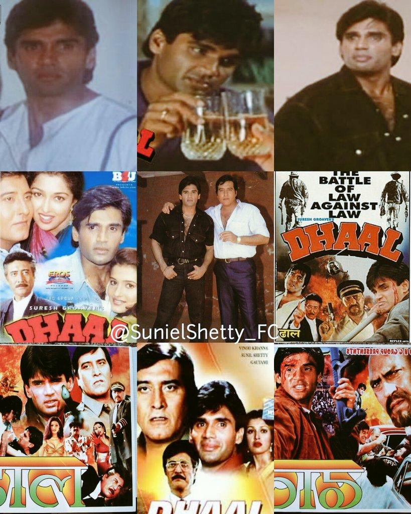 #OnThisDay November 28, 1997 nice movie 'Dhaal' released! @SunielVShetty Sir  @VinodKhanna  #SunielShetty  #VinodKhanna  #22YearsOfDhaal