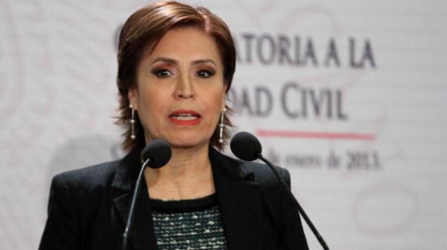@Radio_Formula's photo on Rosario Robles