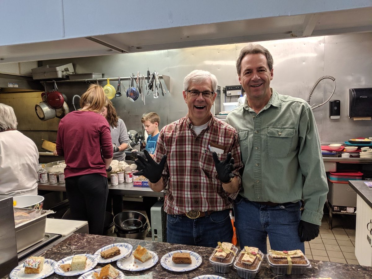 A lot to be grateful for this Thanksgiving! Thanks to God's Love Shelter in Helena for serving up some meals today.