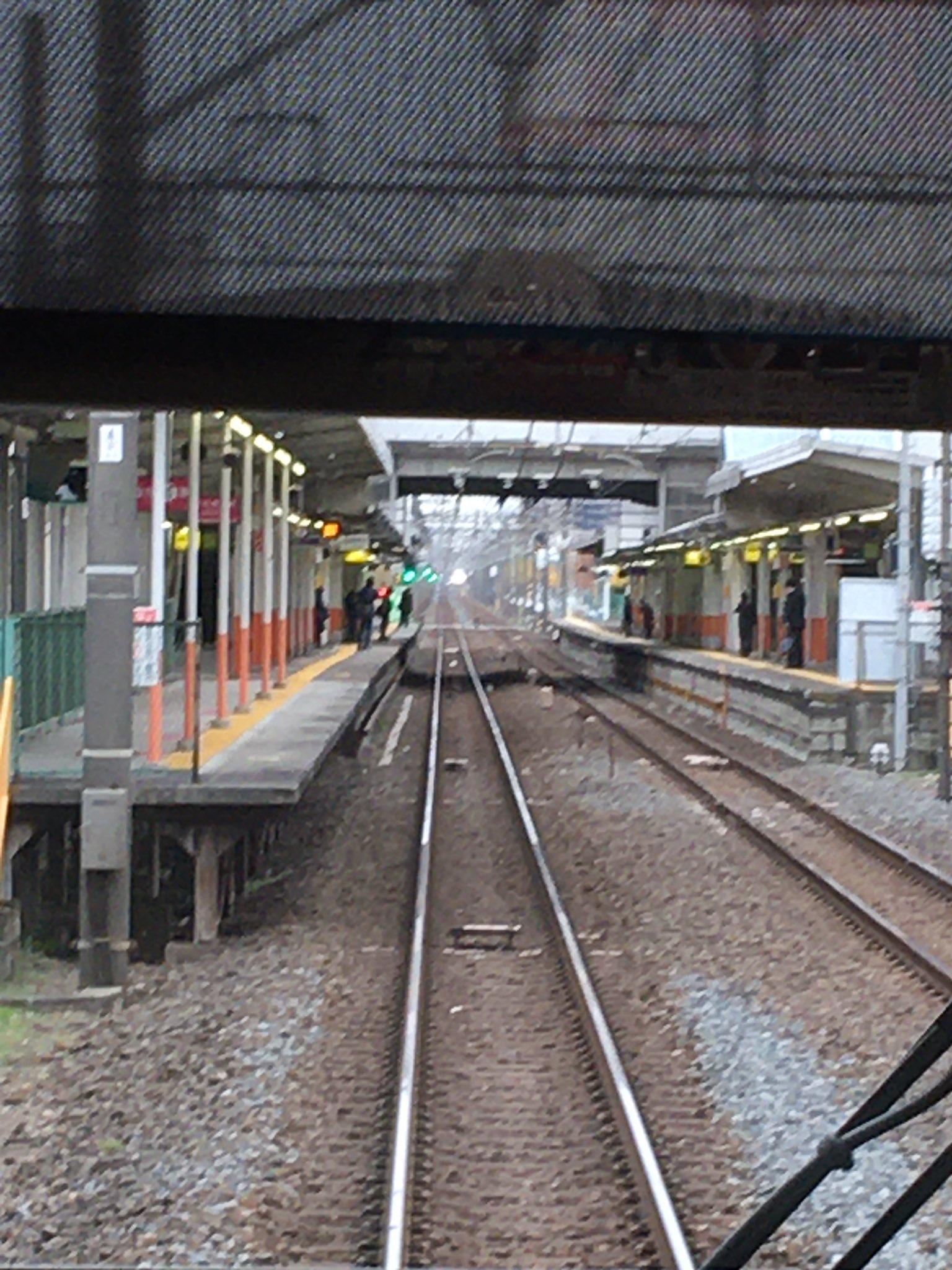 東武スカイツリーラインのせんげん台駅付近で人身事故の画像