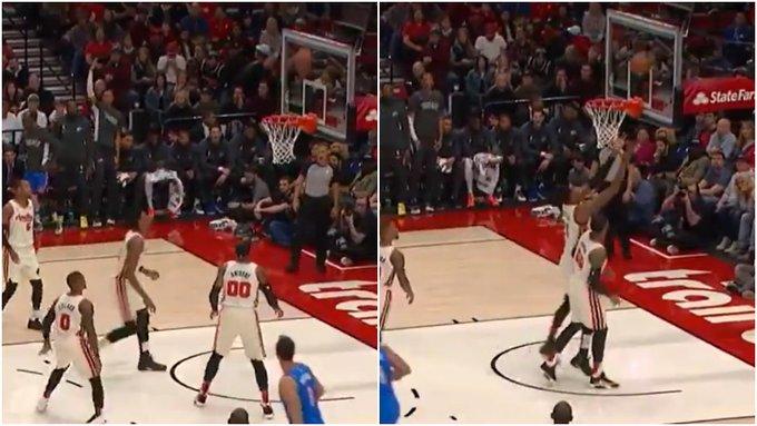 【影片】甜瓜霸氣搶板訓話大白邊:籃板我搶到了,你給我滾開!