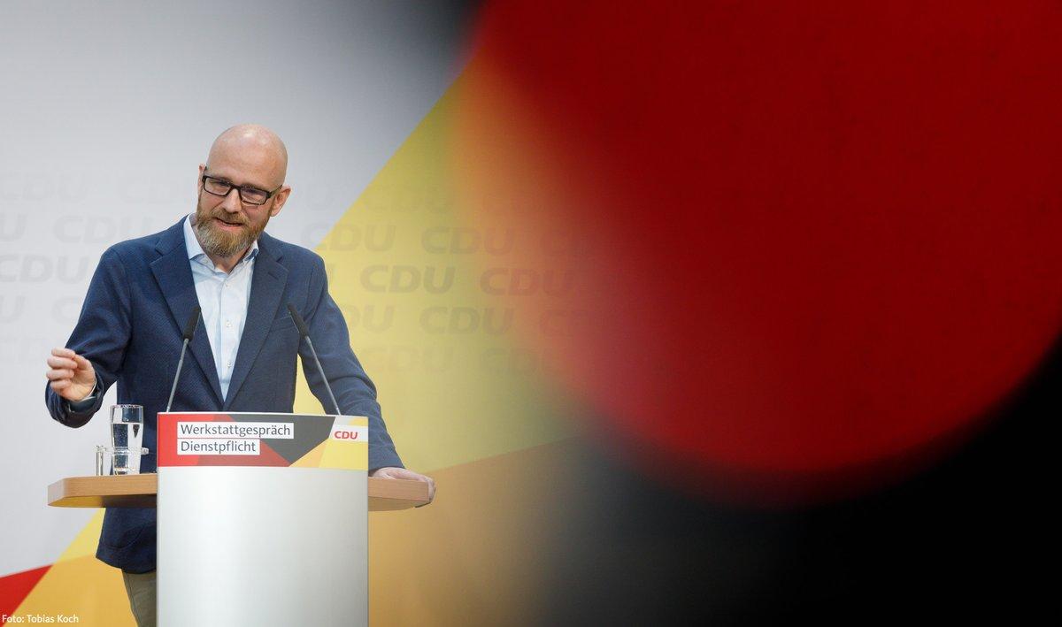 Cdu Deutschlands On Twitter Petertauber Begründet Die