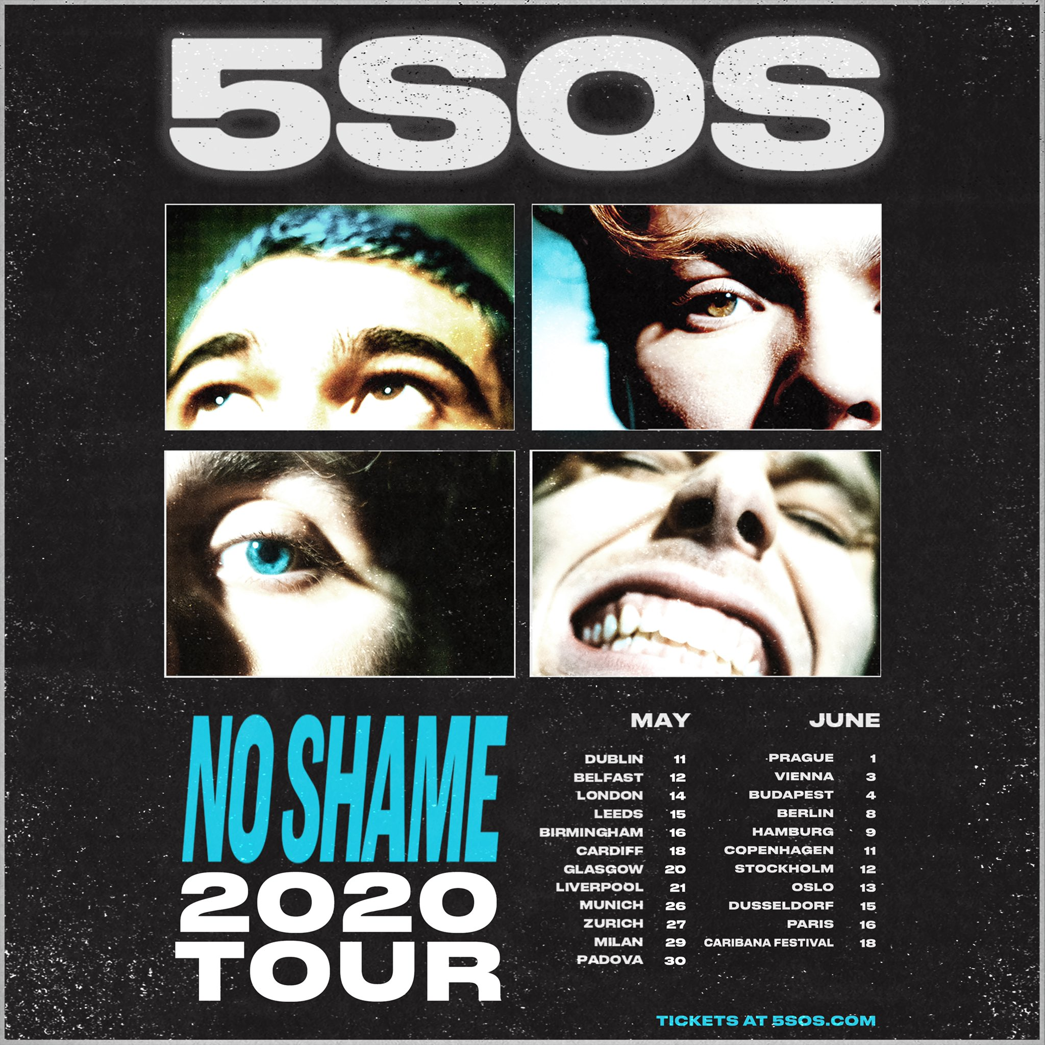 5 Seconds Of Summer 2020.5 Seconds Of Summer On Twitter Uk Europe Tour 2020 Pre