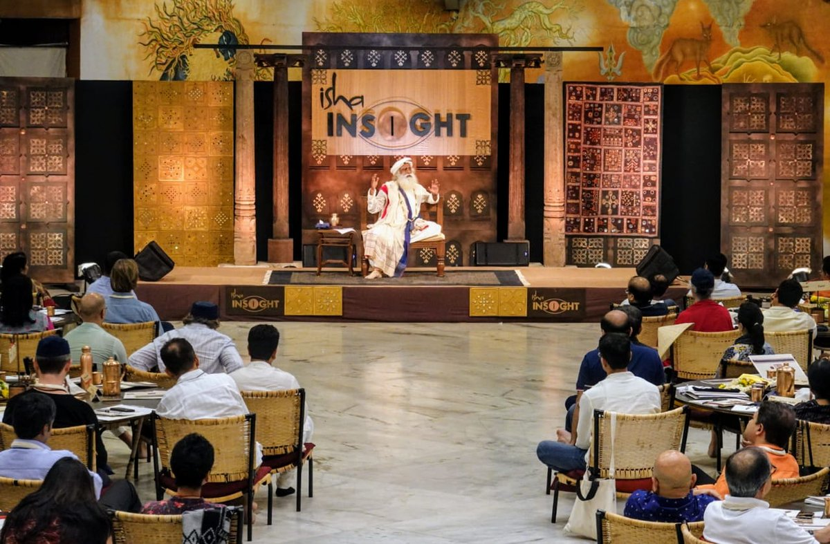 If one truly wants to be successful, then it's paramount to learn how to handle and enhance oneself because how we function in the world is subject to various realities, but how we are is 100% in our hands. -Sg #IshaINSIGHT @IshaLeadership