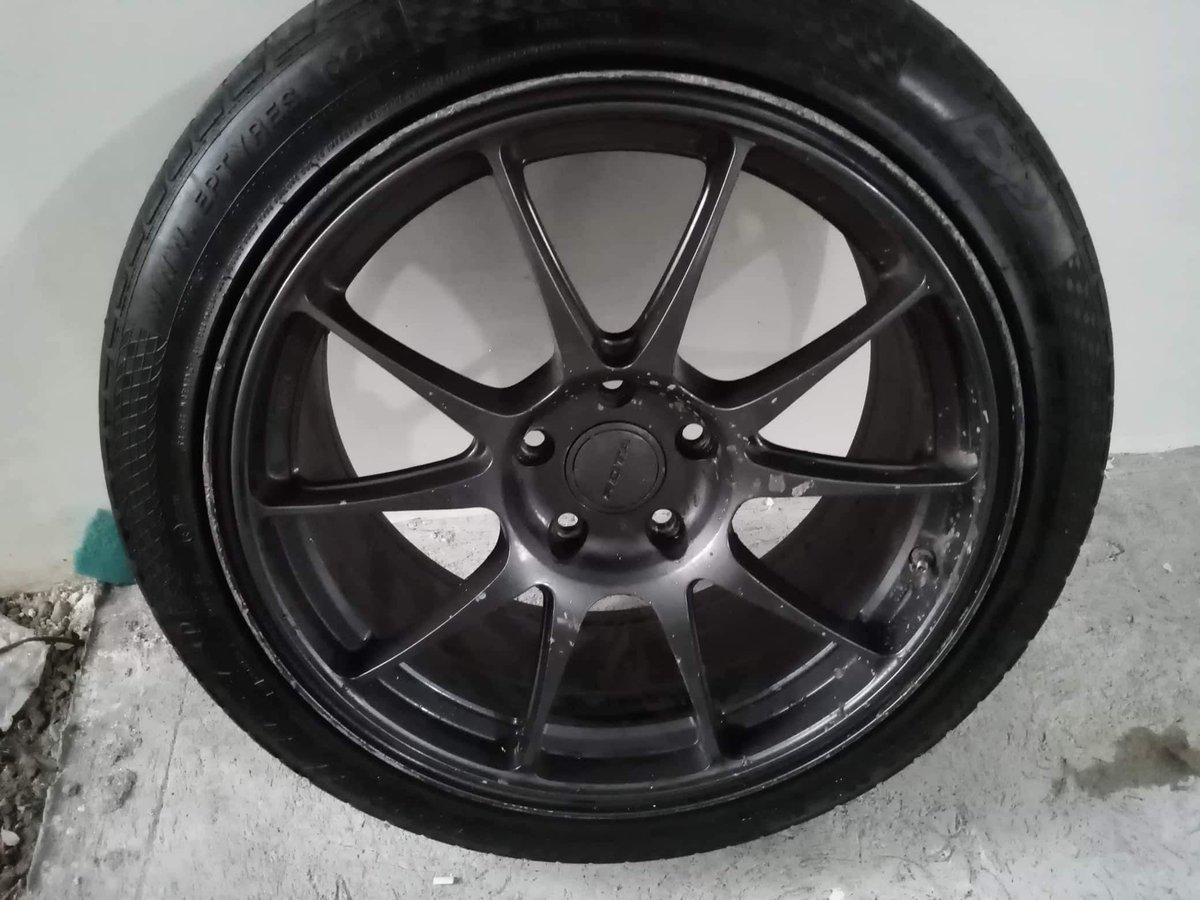 Damage has been done!!!  #ROTAwheelsPH