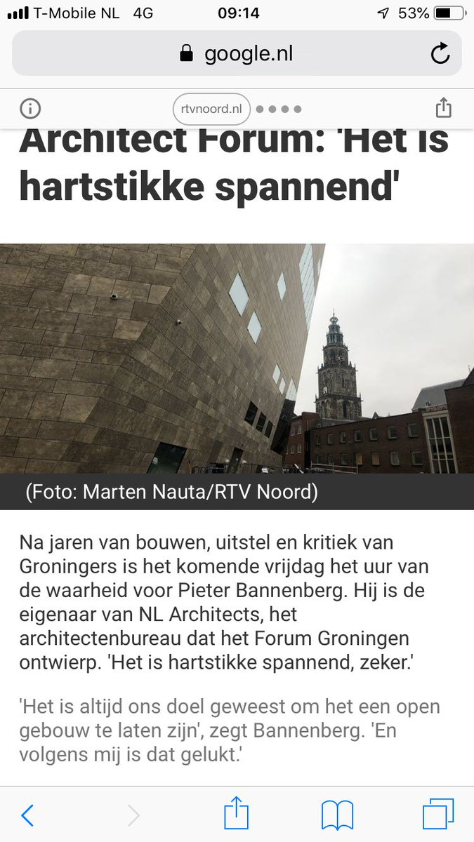 Jan Pronk On Twitter De Zegeningen Van De Moderne Architectuur Medelijden Met De Groningers