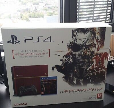 PS4 Metal Gear Solid V Limited Edition 500GB With controller  http:// dlvr.it/RKH878    <br>http://pic.twitter.com/5zskwt0H0K