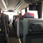 Image for the Tweet beginning: On our way 🚌 to