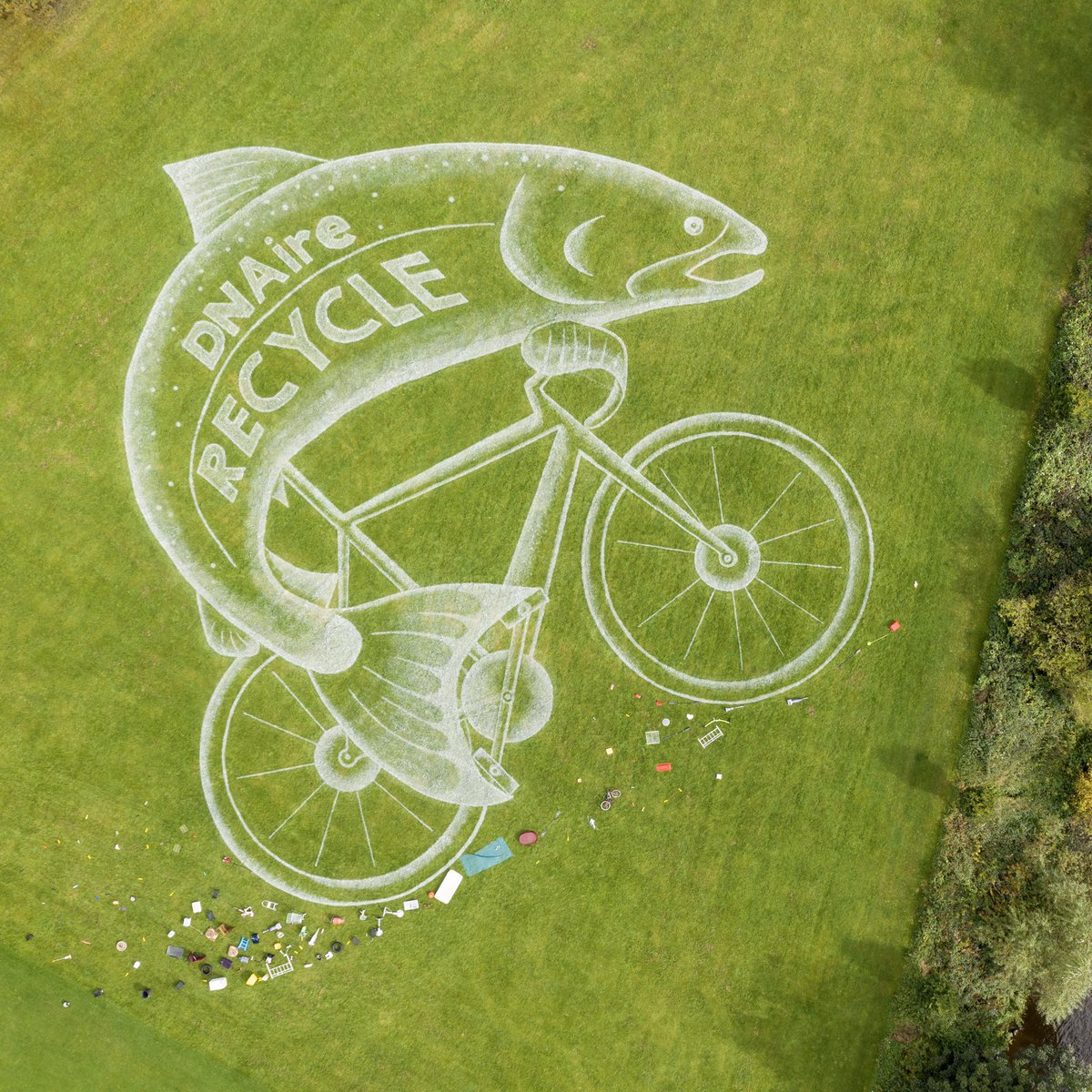 @bradfordmdc @aireriverstrust @sandinyoureye heading to @Welcome2Yorks offices this morning to find out if #fishonabike has been successful in the #yorkshire2019 landart competition