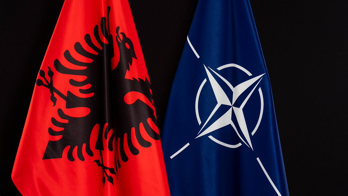 Today is 🇦🇱 Albania's Independence Day.   Our hearts and minds lay heavy in solidarity with our NATO Ally going through difficult times.  #Albania #WeAreNATO