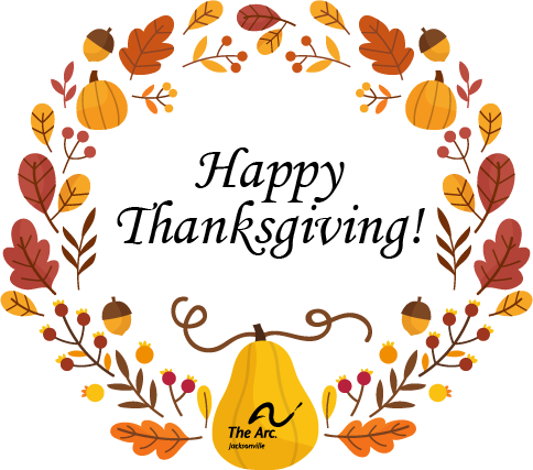 We're thankful for you for making it possible for individuals with intellectual and developmental differences to live, learn, work and play in our community. https://t.co/BVDZ6PnEMq