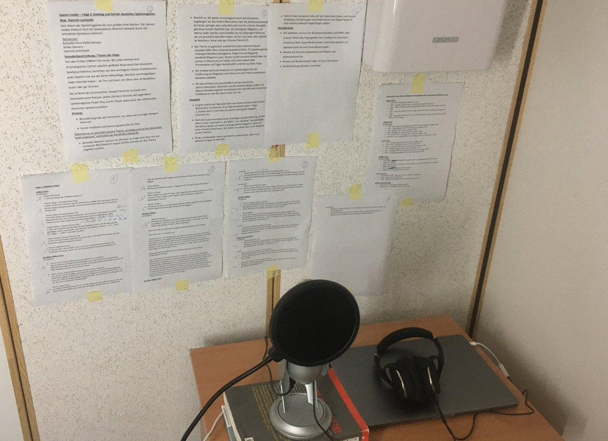Yeah, Aufnahmetag!  #GamesInsider #esgehtlos #spielejournalismus #spielebranche #spieleindustrie #gamesindustry #podcast #podcast#podcasts #podcasting #podcastlife #podcastlove #podcaststudio #games #gamerpic.twitter.com/GUhthyhSIc