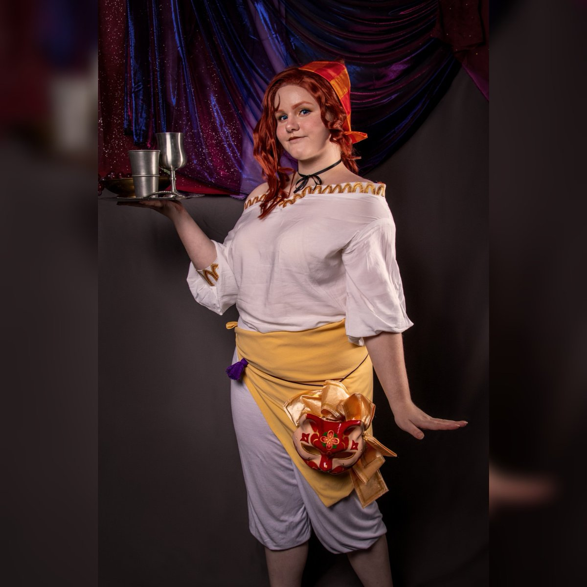 """Would you like a drink, or some snacks?""  Character: Portia Devorak Franchise: @thearcanagame Picture and Edit: rockingraccoon_photography (IG) Full post: https://www.instagram.com/p/B5NwnbFnROM/?igshid=griw0w24wf03 …  #portiadevorak #portiadevorakcosplay #portiathearcana #thearcanacosplay #portiacosplaypic.twitter.com/Hys0C9YpNU"