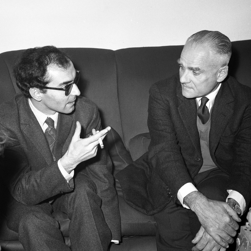 "The Daily on Twitter: ""Alberto Moravia, #BOTD in 1907, with Jean ..."