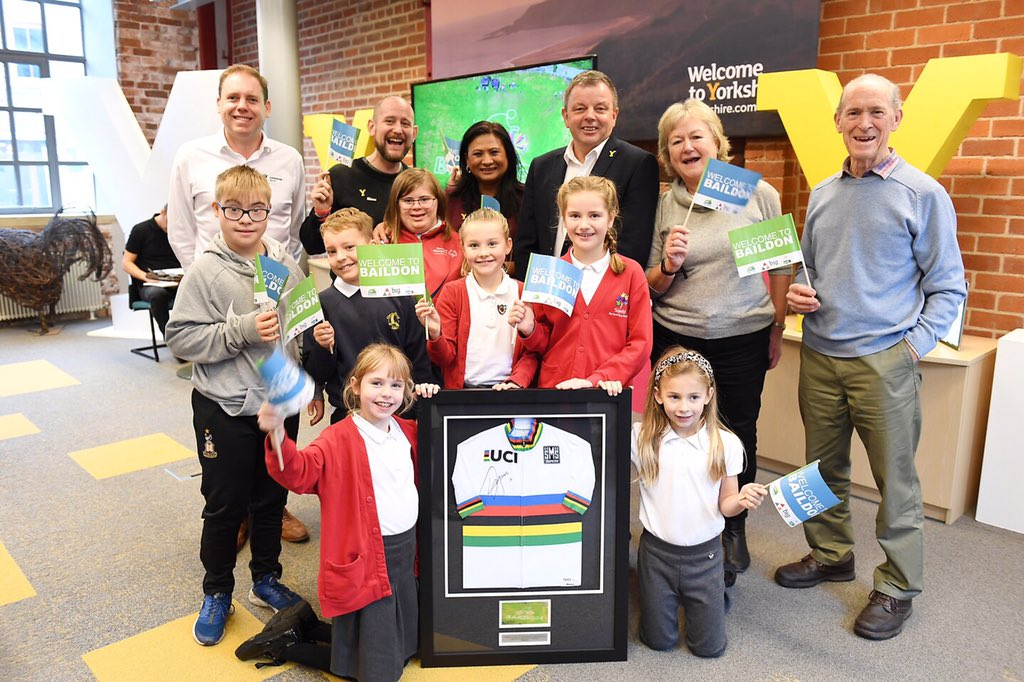We're delighted to reveal the top three in our @Yorkshire2019 Land Art competition. They are:  🥇 Baildon 🥈 Thorne 🥉 Shipley  #Yorkshire2019