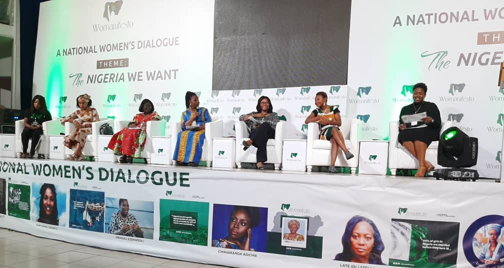 Day 2 of the National Women's Dialogue!  1st Panel Discussion on Violence Against Women and Women and Leadership  #TheNigeriaWomenWant #womanifesto #womanifesto2019 https://t.co/c2jjX9kdrI