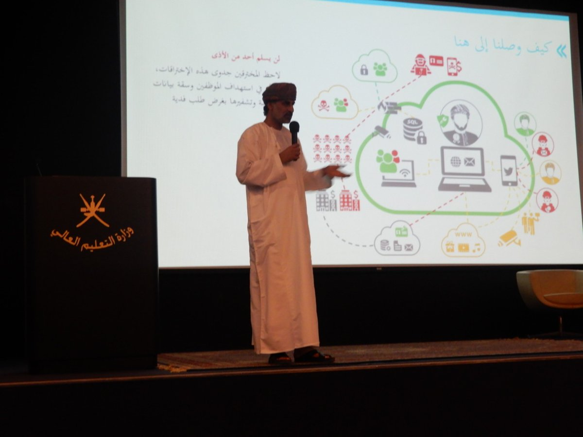 Insight Information Security On Twitter We Continue Our Campaign And This Time We Conducted A Security Awareness Session For The Employees Of The Ministry Of Higher Education Omanmohe The Attendees Positive Interaction