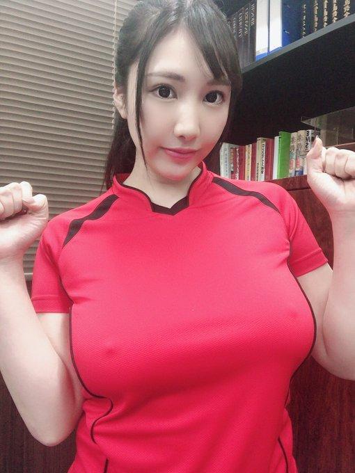 AV女優若月みいなのTwitter自撮りエロ画像48