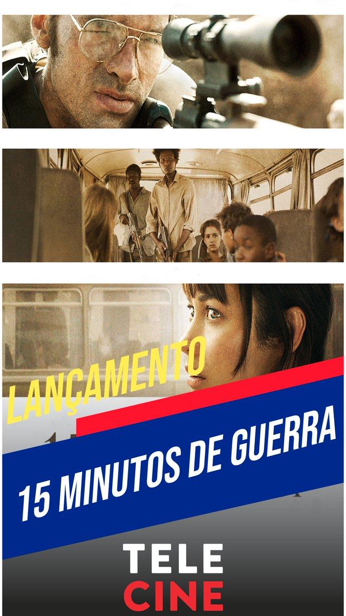Lançamento - Telecine   15 Minutos de Guerra (2019)   . #fakedoorsbr #filme #cinemaepipoca #amofilmes #dicasdefilmes #telecinepic.twitter.com/tQOWLb99X6