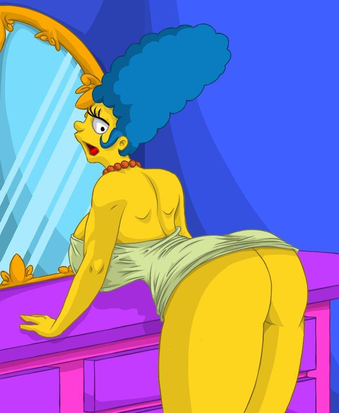 Marge porno Marge Simpson