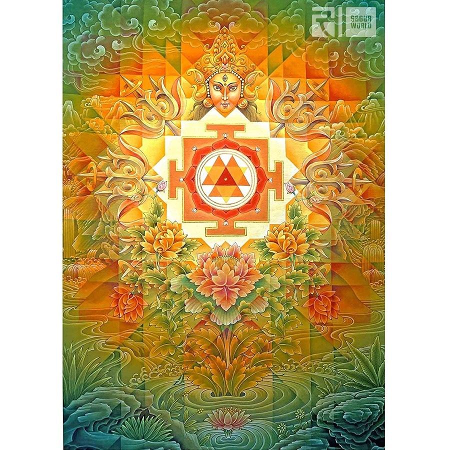 #DurgaYantra – The Sacred Geometrical Diagram To Invoke  #GoddessDurga #Yantras are great cosmic conductors of energy, an antenna of Nature, a powerful tool for harmony, prosperity, success, good health, yoga and #meditation. #Hinduism #Hindugods #Durga  #navratri