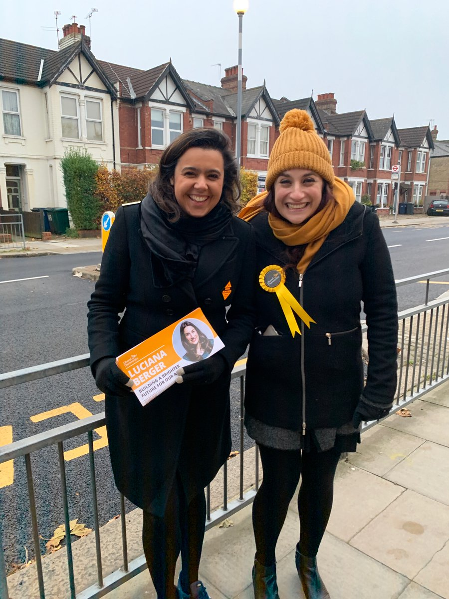 Very proud to campaign for @lucianaberger in Finchley & Golders Green. Luciana can beat the Conservative candidate. She is brave, principled, and fought for her principles with huge strength and dignity. An example of the best of what politics and politicians should be <br>http://pic.twitter.com/ObrBMBeby5