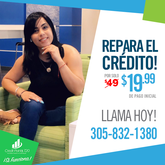 Reparación de Credito! Resultados positivos en 30 días. La consulta es completamente Gratis (Estados Unidos y Puerto Rico) Llama Hoy! 305-832-1380 #reparaciondecredito #creditrepair #creditpoints720 #creditpoints720miamipic.twitter.com/E30n5I0aSo