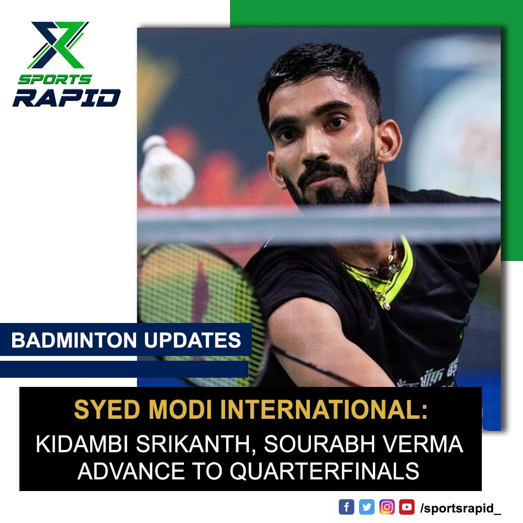 Kidambi Srikanth, Sourabh Verma advance to quarterfinals as Lakshya Sen & Ajay Jayaram bow out in second round.#badminton #badmintonplayer #badmintonlovers #sainanehwal #pvsindhu #badmintonindia