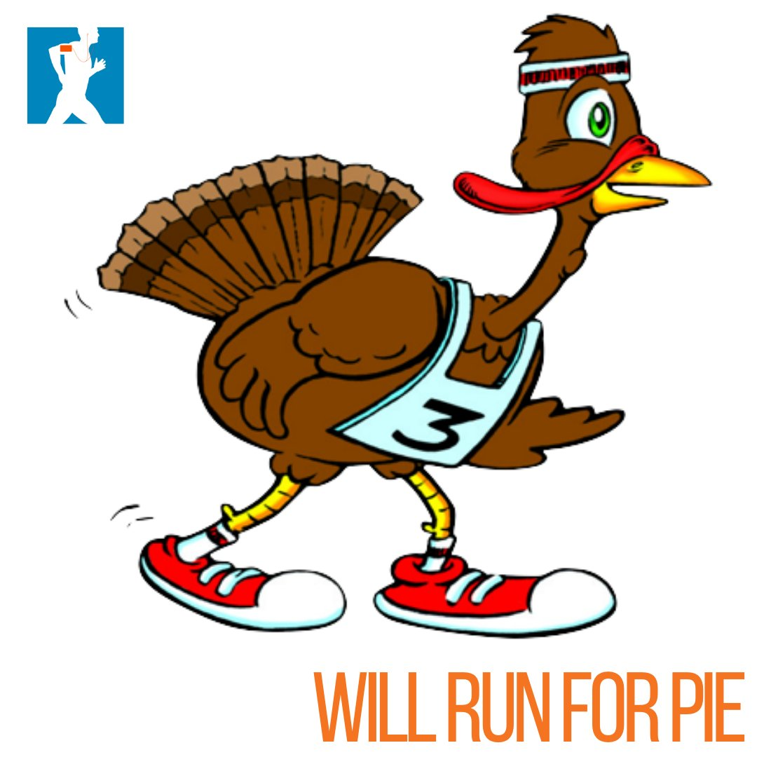 RUN now, PIE later! 🍽🧡 Wishing you all the best luck in your turkey trots this morning!  Happy Thanksgiving from the Running Trainer Team! #RunningTrainer #LetsRun #TurkeyDay #thankful #thanksgiving