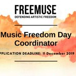 Image for the Tweet beginning: We're looking for a #MusicFreedomDay