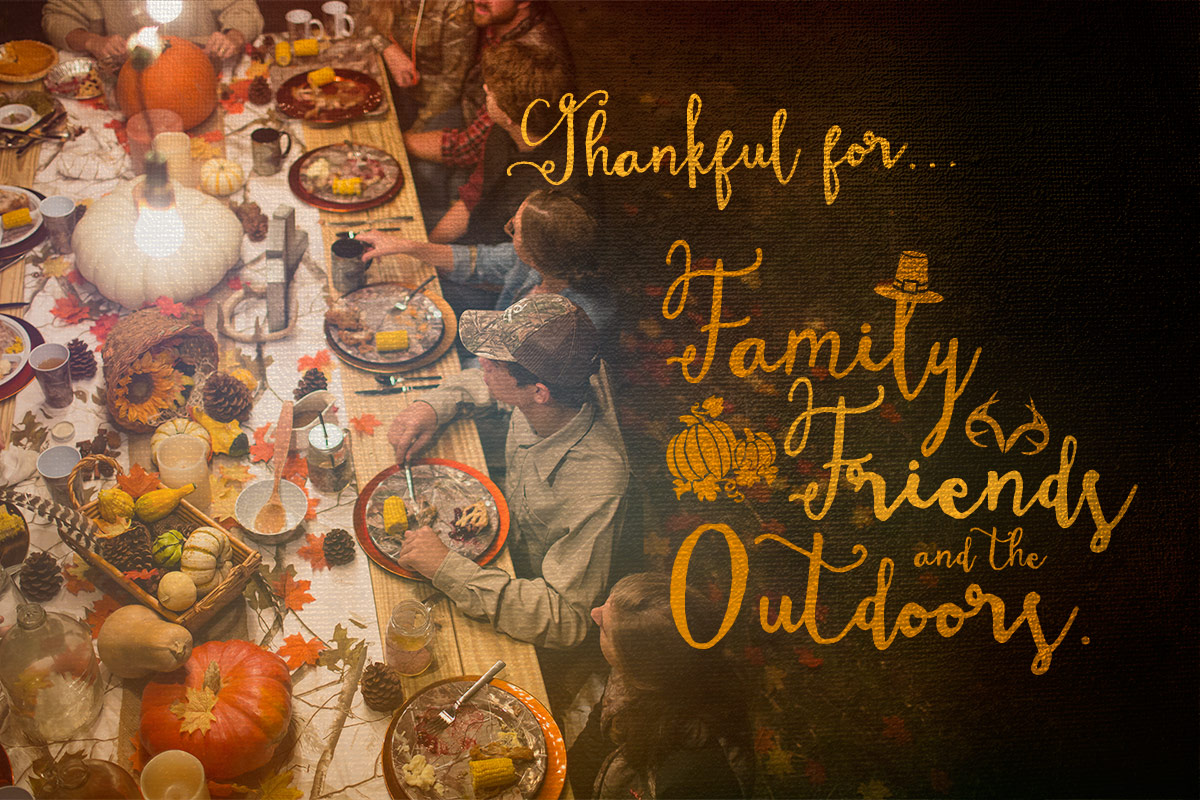 We wish you an wonderful and Happy Thanksgiving, from our family to yours!