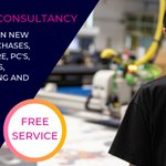 Image for the Tweet beginning: Our FREE consultancy extends right