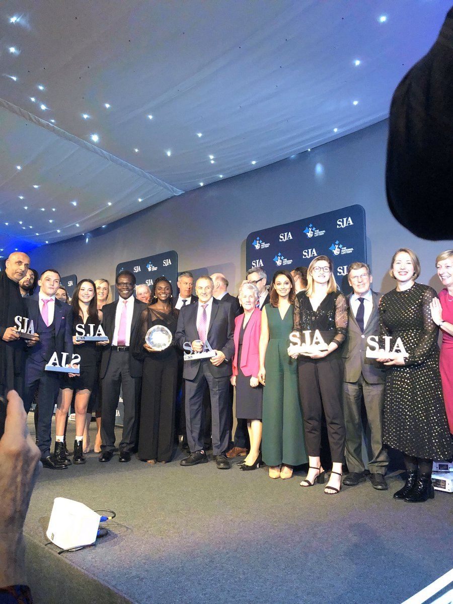 Big congratulations to all the brilliant winners @SportSJA today, wonderful to see @WomensSport @TelegraphSport Tokyo 8 superstar @alice__tai recognised🥇🥇🥇🥇🥇🥇🥇