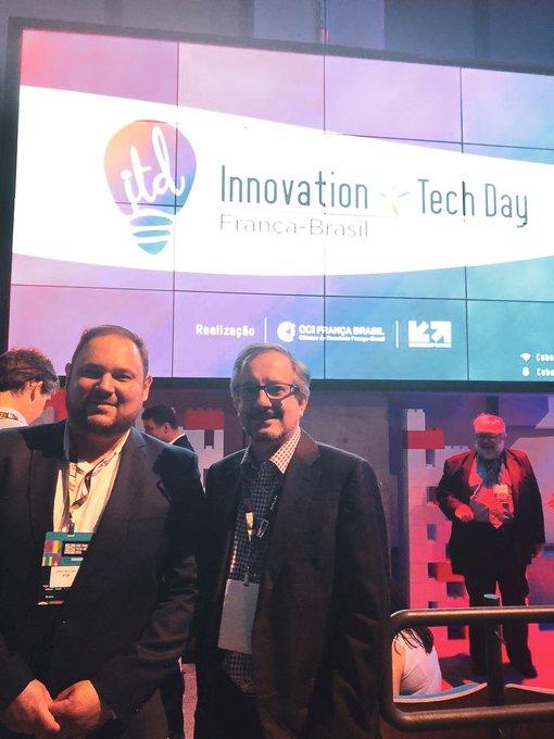 Nessa semana marcamos presença no Innovation Tech Day! 🤖 Nosso CEO, Nelson Campelo, esteve...