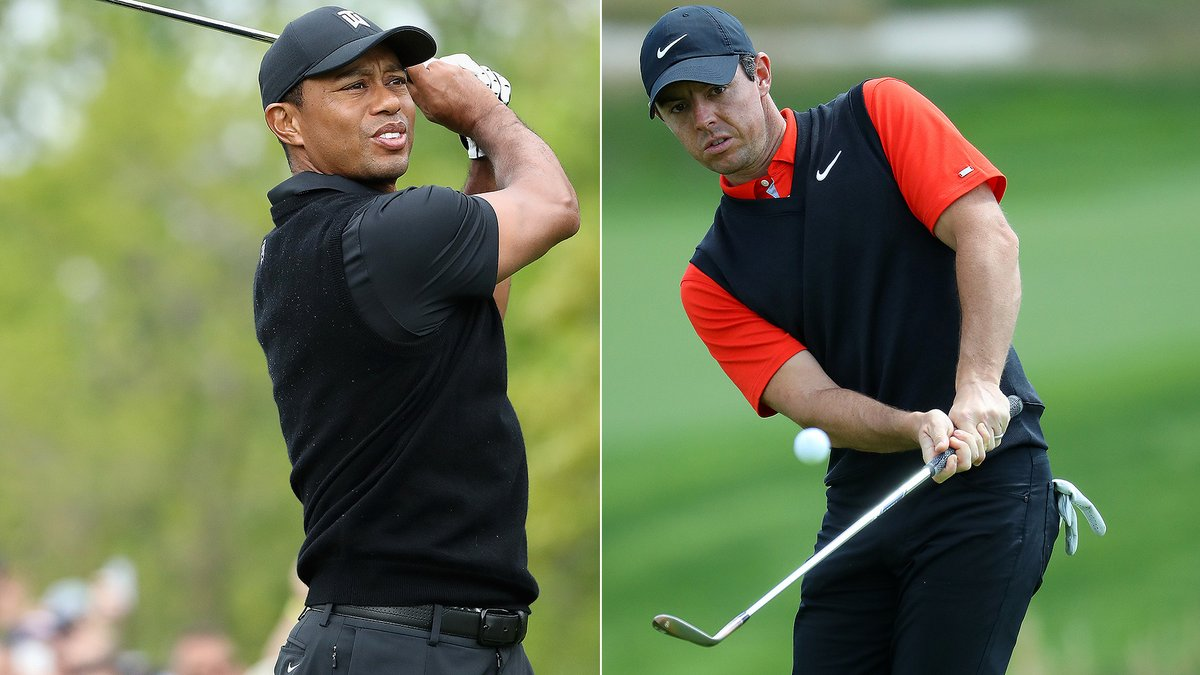 Following their impressive 2019 showings, who added more gravy this fall: Tiger or Rory? @TrippIsenhourGC and @GeoffShac debate: watchgolf.ch/fs3SMg