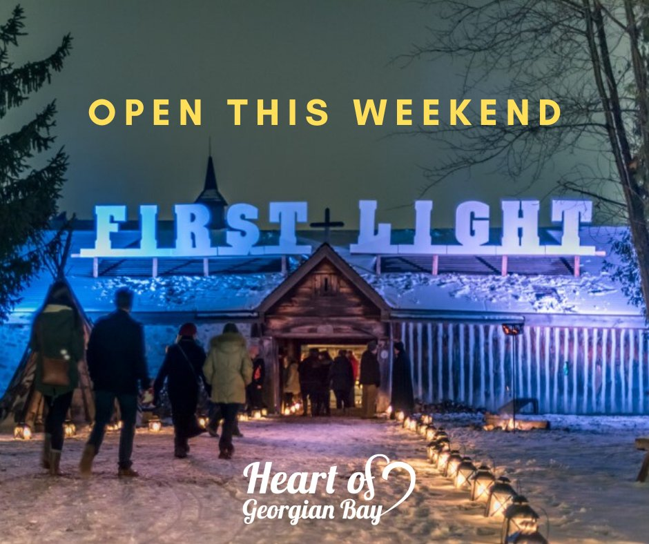 A 'Must-Do' event ❄️ Holiday season traditions start with a visit to First Light! Thurs., Nov. 28, Fri., Nov. 29 & Sat., Nov. 30 from 5:30 - 9:00pm. $10/pp (kids 5 and under free), w/food bank donation. Info ℹ️ https://t.co/cYzod5wfKM Tickets 🎟️ https://t.co/5woAruRk25 https://t.co/gfbVv48DVn