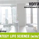 Image for the Tweet beginning: HEAD OF STRATEGY LIFE SCIENCE