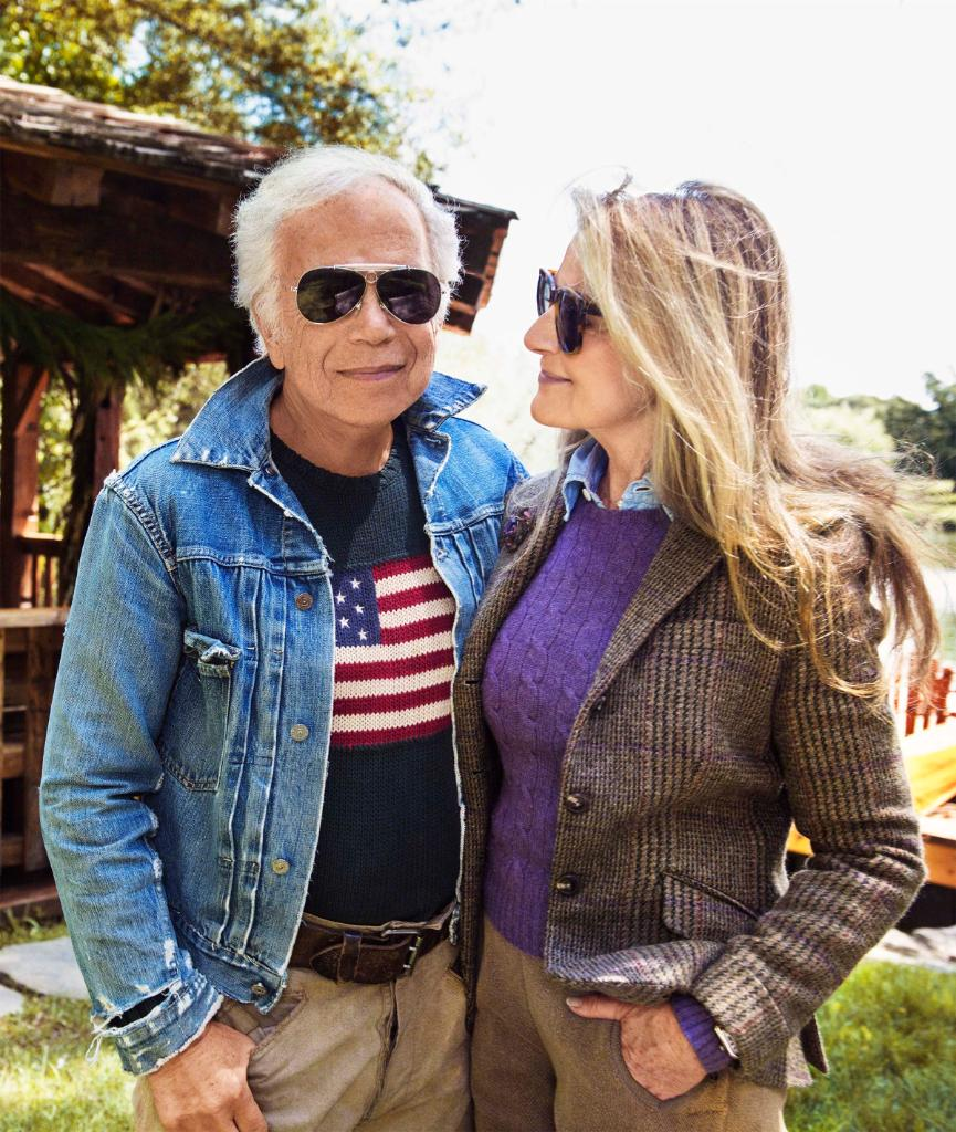 Sending warmest wishes for a happy and meaningful #Thanksgiving. —Ralph and Ricky Lauren Photographed by Pamela Hanson
