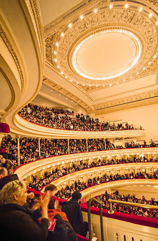 This holiday season and throughout the entire year, we're giving thanks for the immense generosity of everyone who supports #CarnegieHall. All that we do at #CarnegieHall would not be possible without the support of our members and donors. bit.ly/2qKiZpM