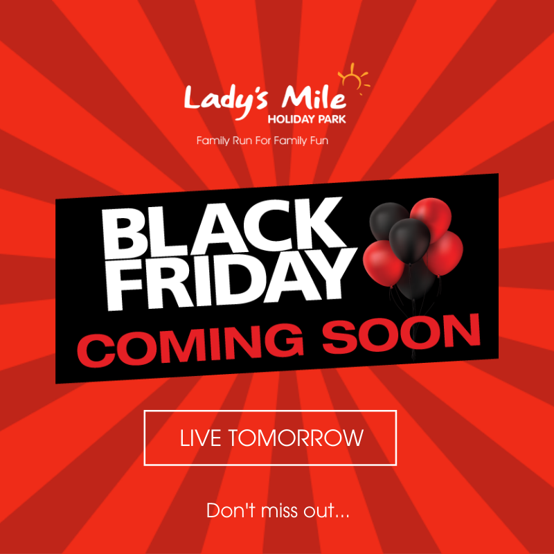 LIVE TOMORROW FROM 00:00AM - 29.11.19 🖤🖤 With just 1 day to go we thought we would let you in on our fantastic deal planned for Black Friday... Save a MASSIVE 20% on ALL holidays throughout 2020. Dont miss our BIGGEST Black Friday Sale Yet