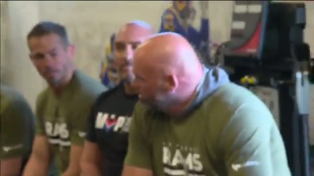 .@jayglazer talks about his initiative, MVP: Merging Vets and Players, and the impact NFL players have had on former combat veterans: