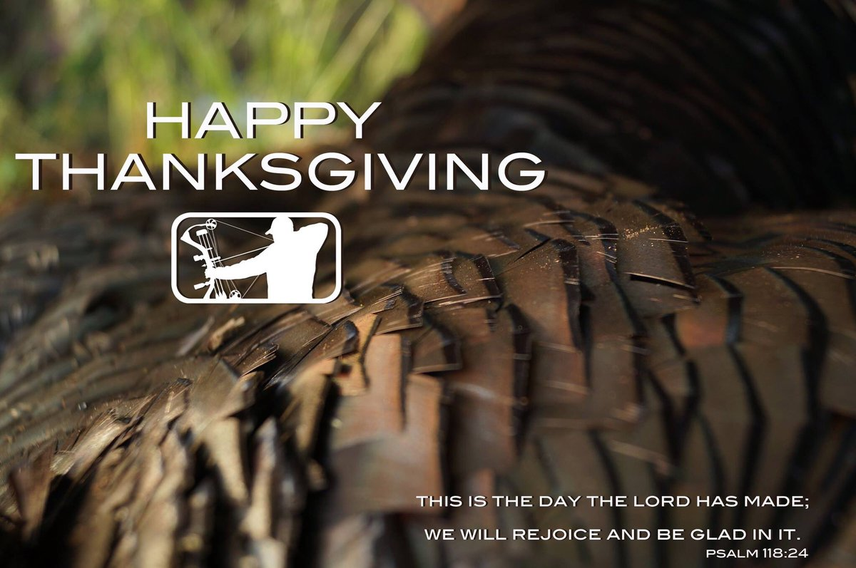 Happy Thanksgiving from the Major League Bowhunter family!