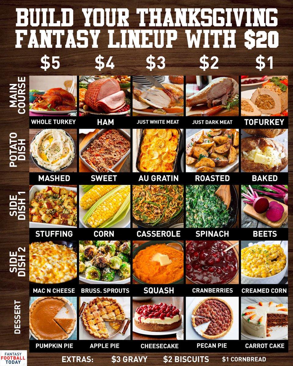 $5 stuffing $5 mashed potatoes $5 pumpkin pie $3 cheesecake $2 dark meat Happy Thanksgiving ❤️❤️❤️❤️