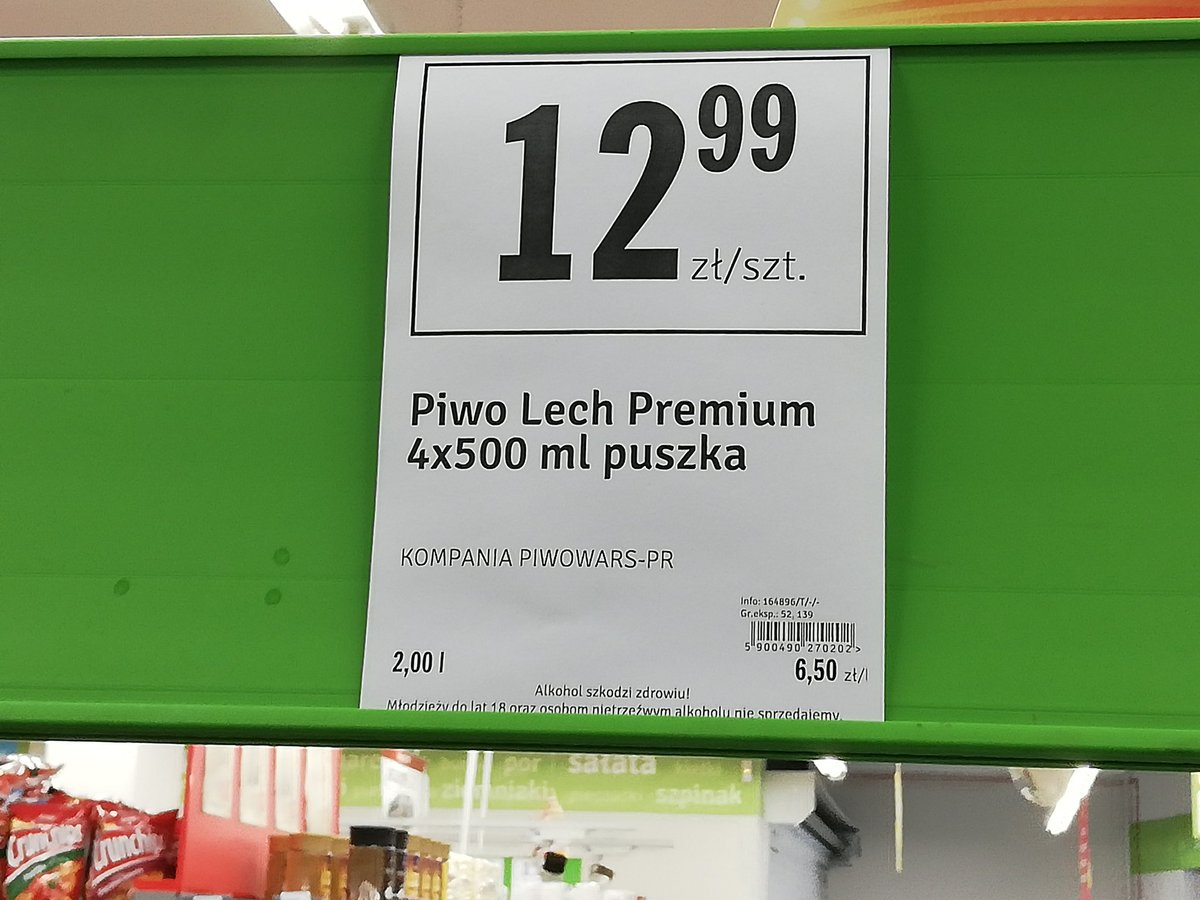 Polish Piwo (beer) prices how I have missed you #poland https://t.co/0jZ5WYwnPd