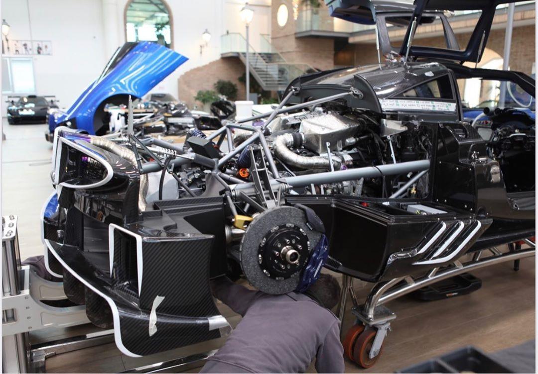 Pagani Imola Engine Supercars Gallery