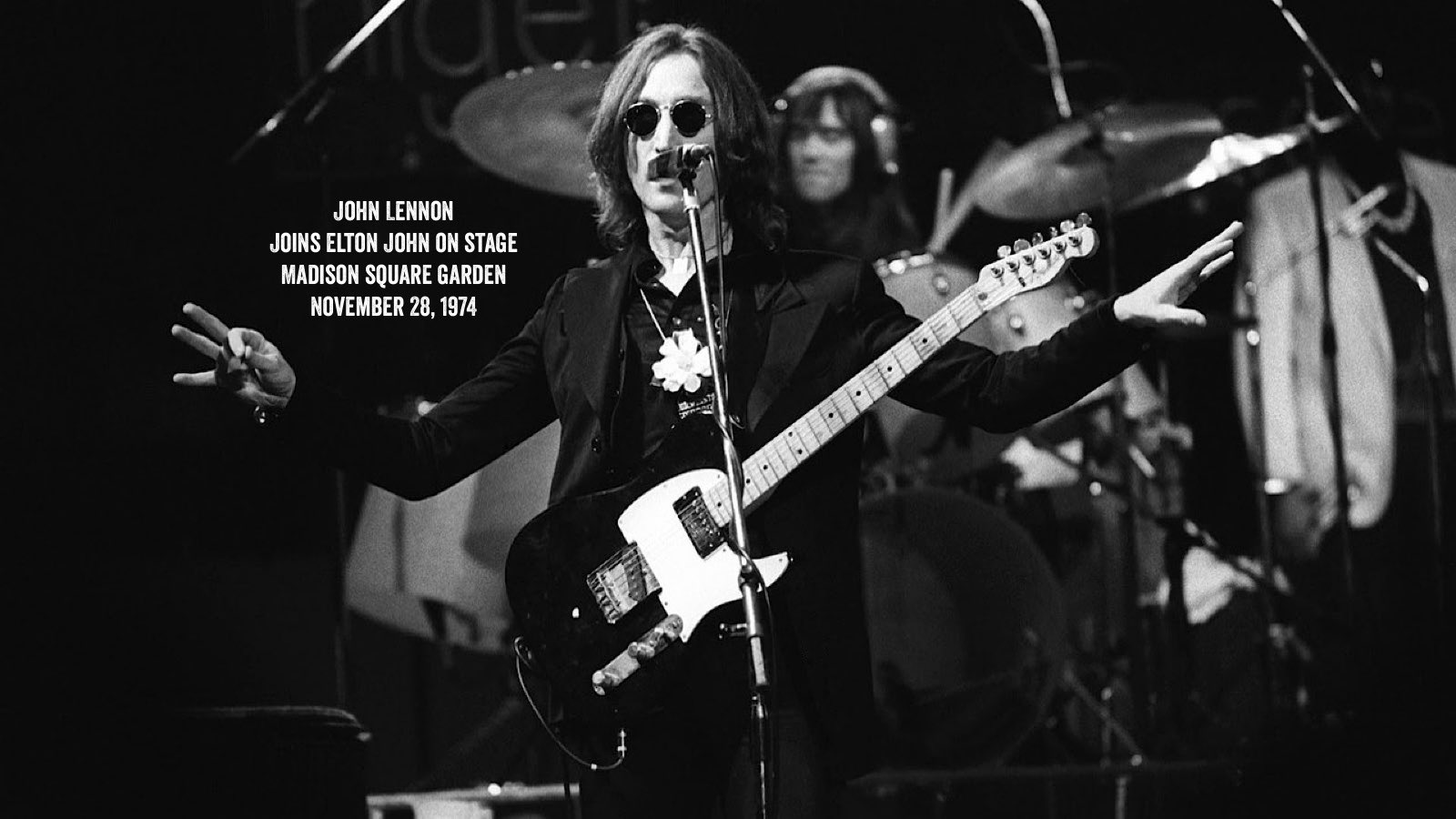 Jaigurudeva On Twitter John Lennon S Last Live Performance Took Place 45 Years Ago Today On November 28th 1974 At Madison Square Garden In New York City Lennon Had Promised Elton John That