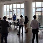 Image for the Tweet beginning: Excelente sesion de trabajo en